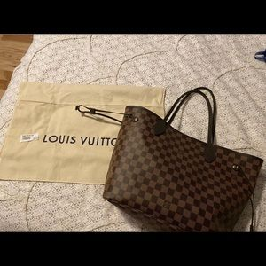 Louis Vuitton Bags - LV Neverfull MM Damier